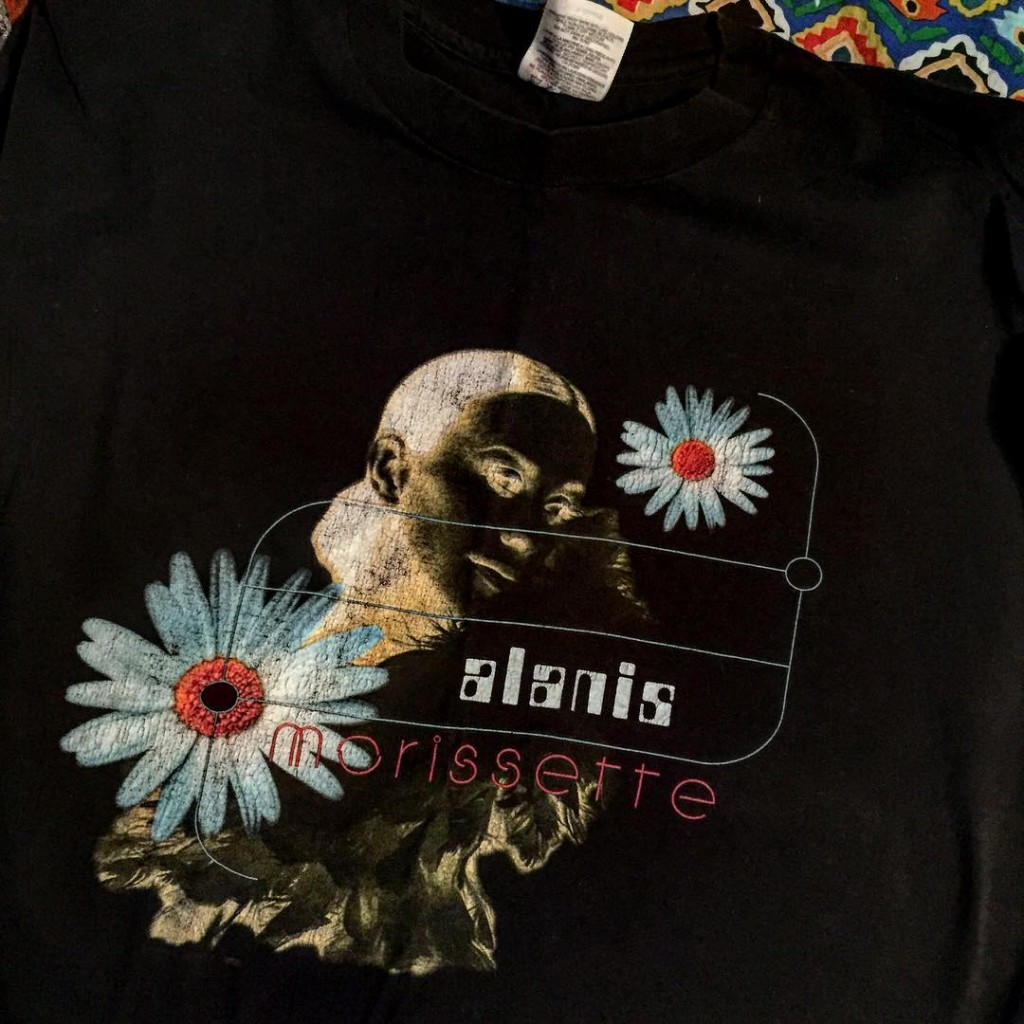 I saw Alanis in Montreal in 1996.