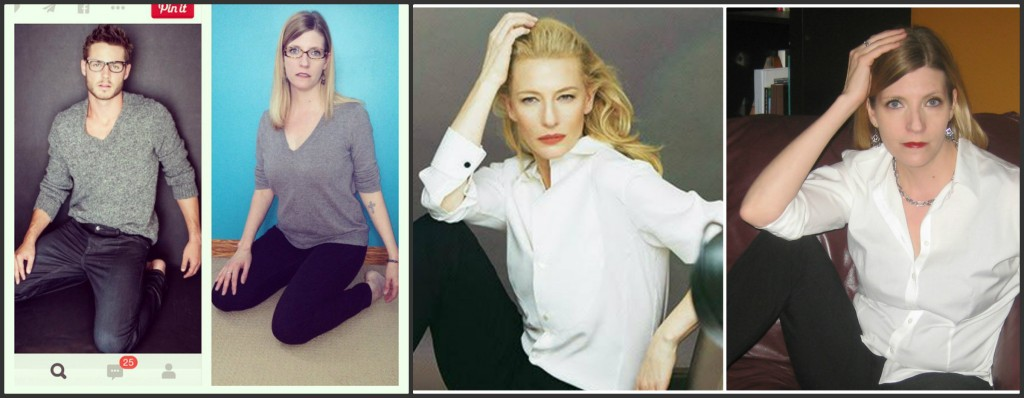 These poses gave me a lot more respect for models and actresses.  How are they so bendy?!
