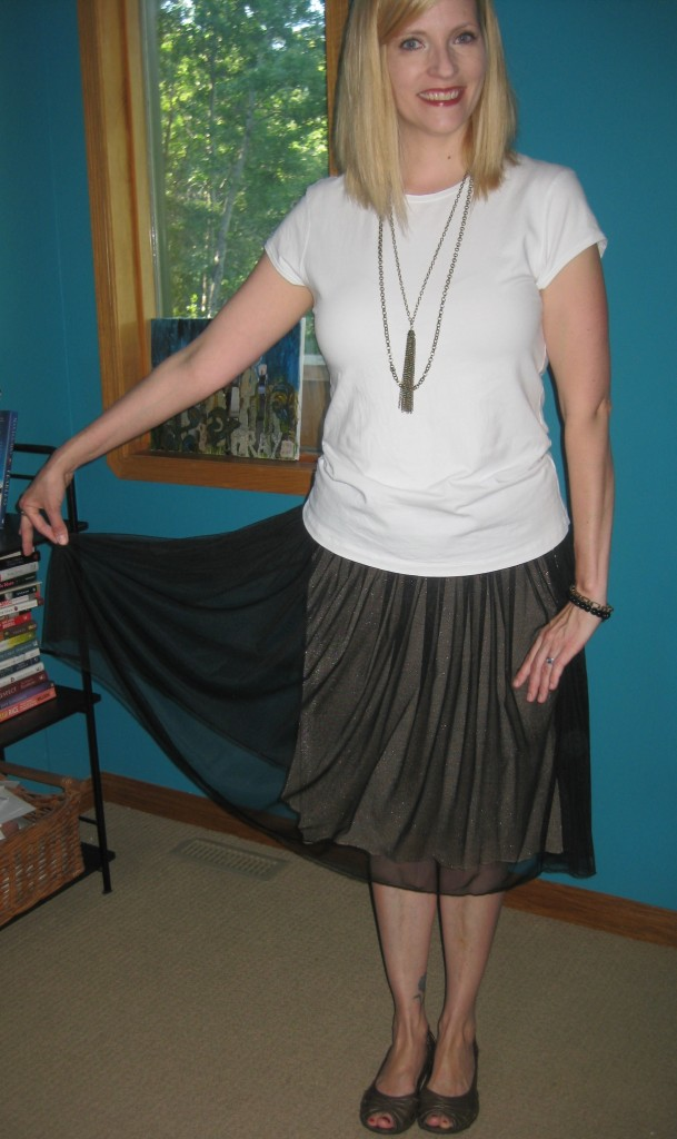 Tulle does however turn your into a twirly 5-year-old!