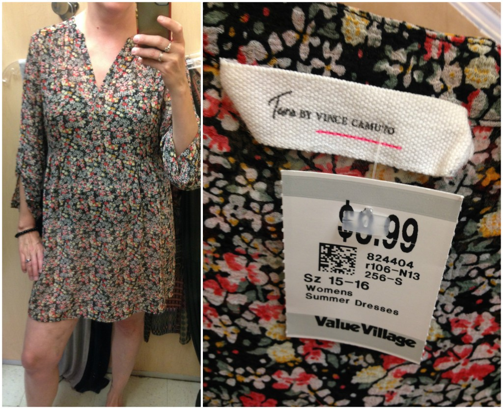 There were some overpriced pieces at this VV Boutique, though not this Vince Camuto!