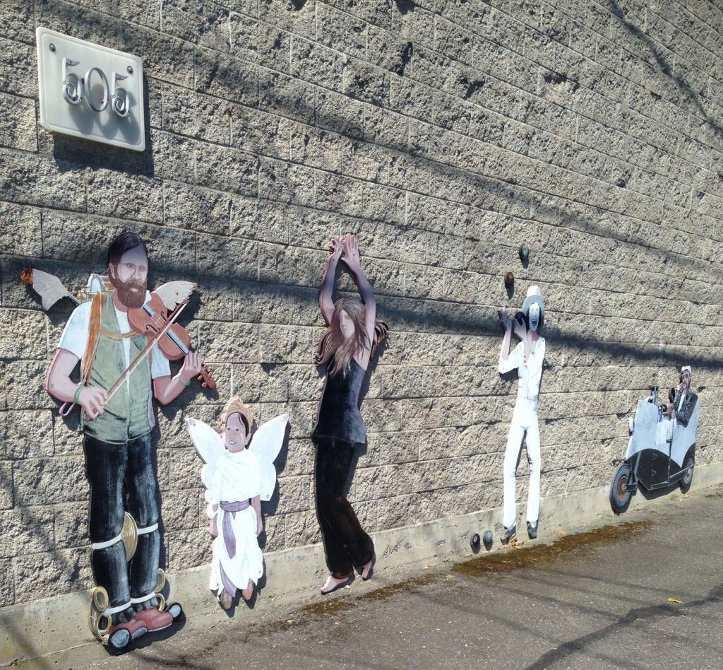 Anacortes must be known for their people cut-outs because they were everywhere...