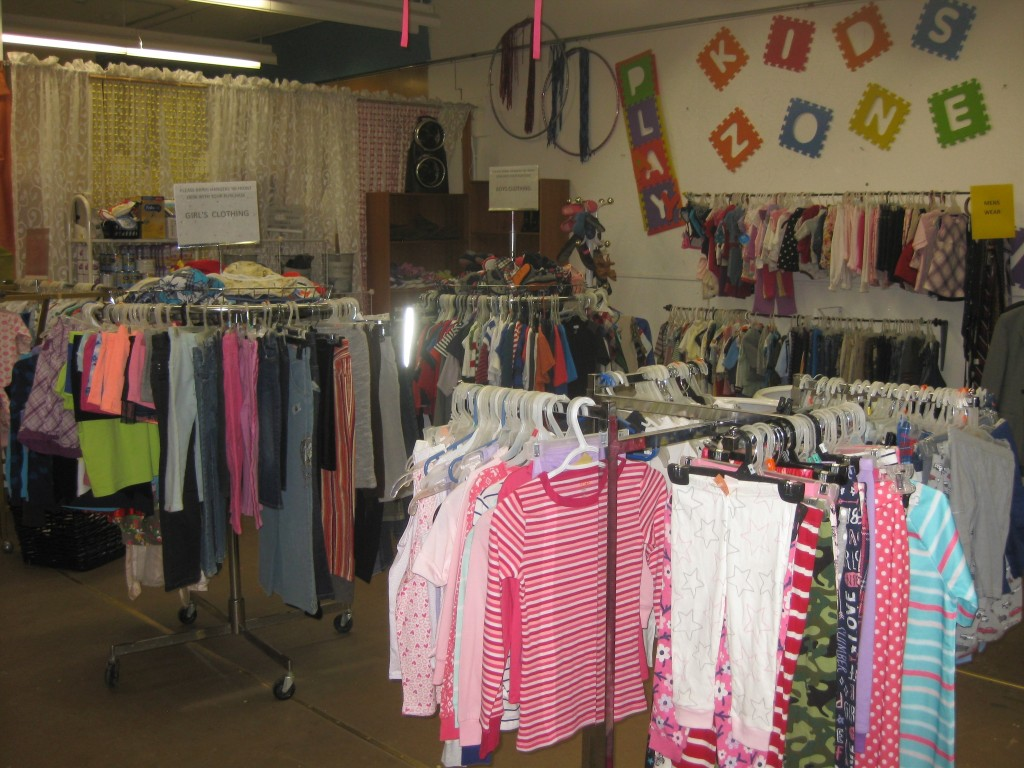Great selection of kids' toys and clothing.