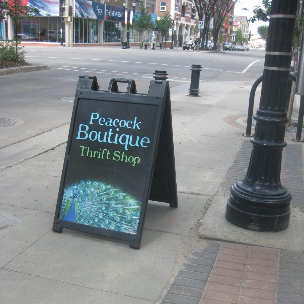 Peacock Boutique Thrift Shop
