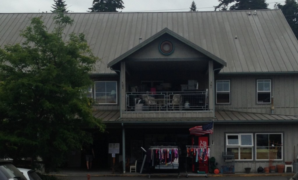 Whoa.  That's quite the thrift store front.