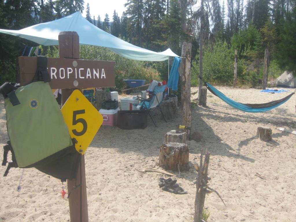 Next stop, Tropicana Beach!