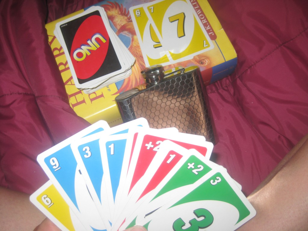 """So we hit the tent for games and reading. At this point, I'm singing """"The Gambler"""" to my kids who are just looking at my quizically."""