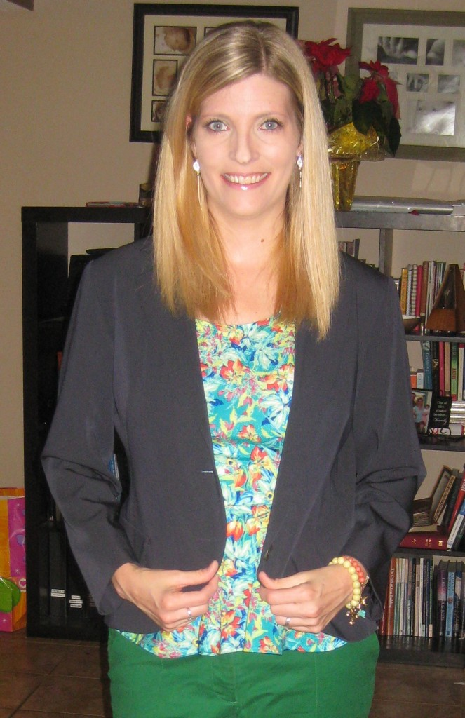 Lida Baday wool silk blazer for $4