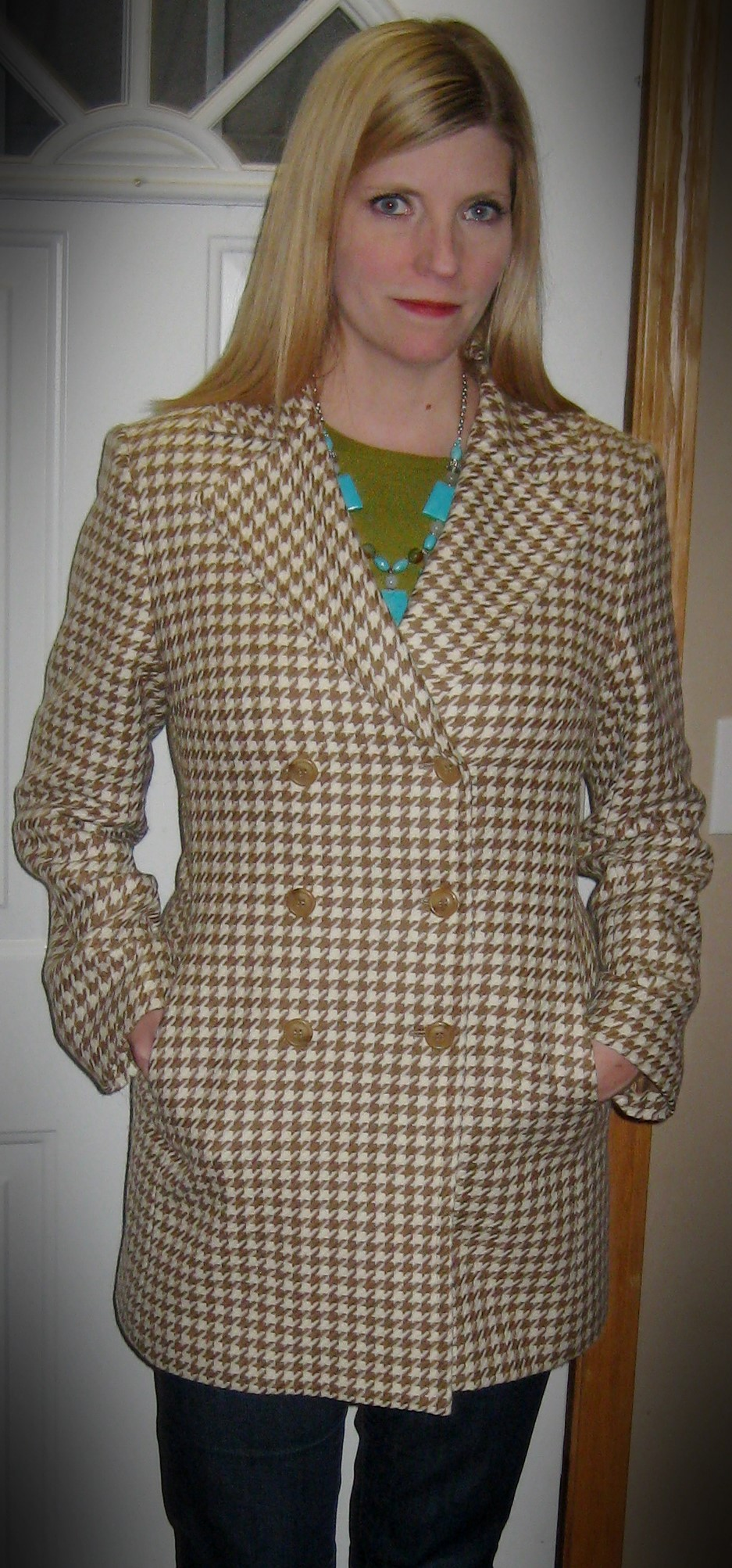 Jax wool coat for $10