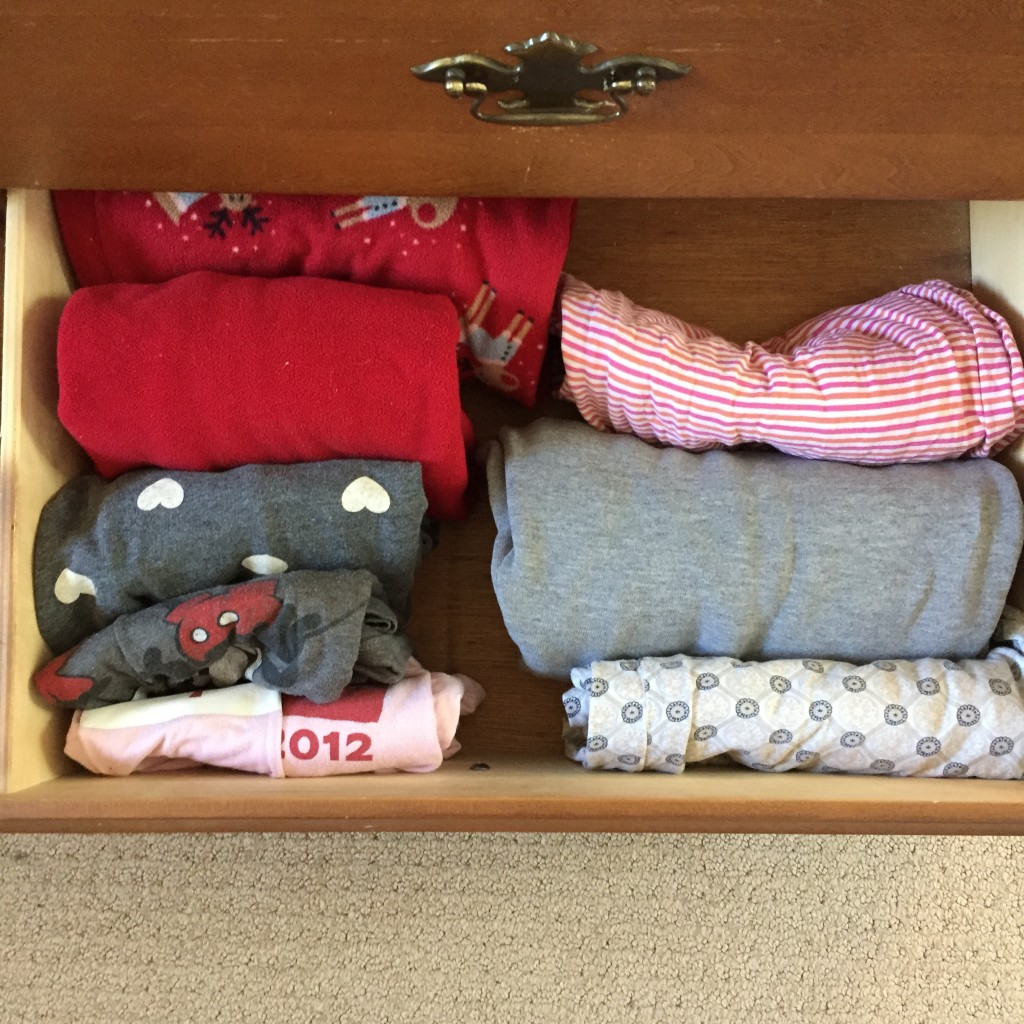 """Sexy"" jammies drawer."