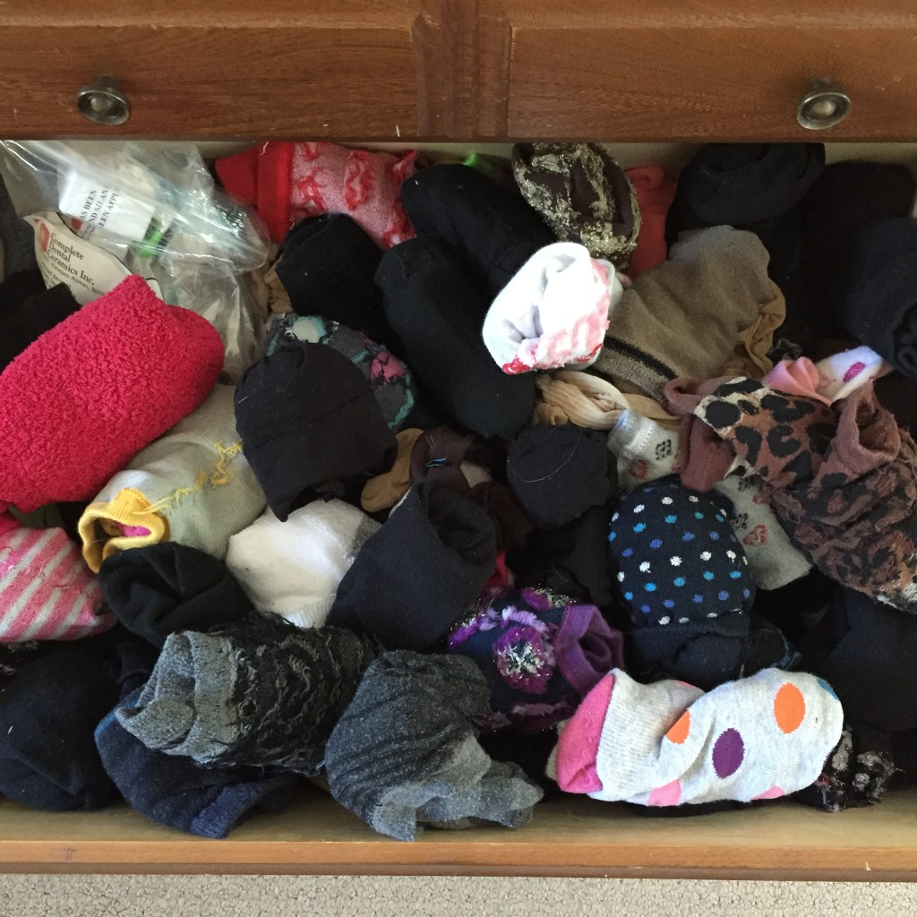 Why on God's green earth do I have so many socks?