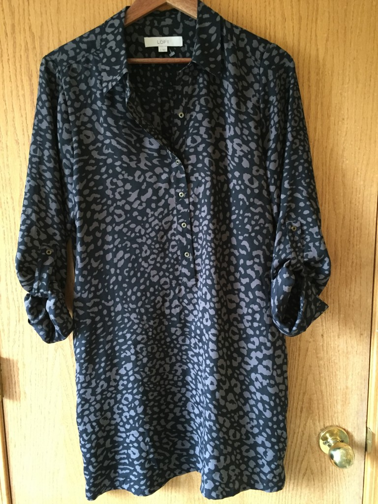 Ann Taylor tunic $9.10 from Saskatoon VV Boutique