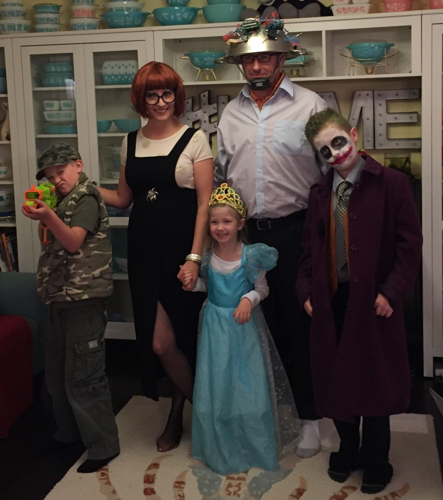 The family that thrifts together sticks together! Hope you had a safe fun Halloween!