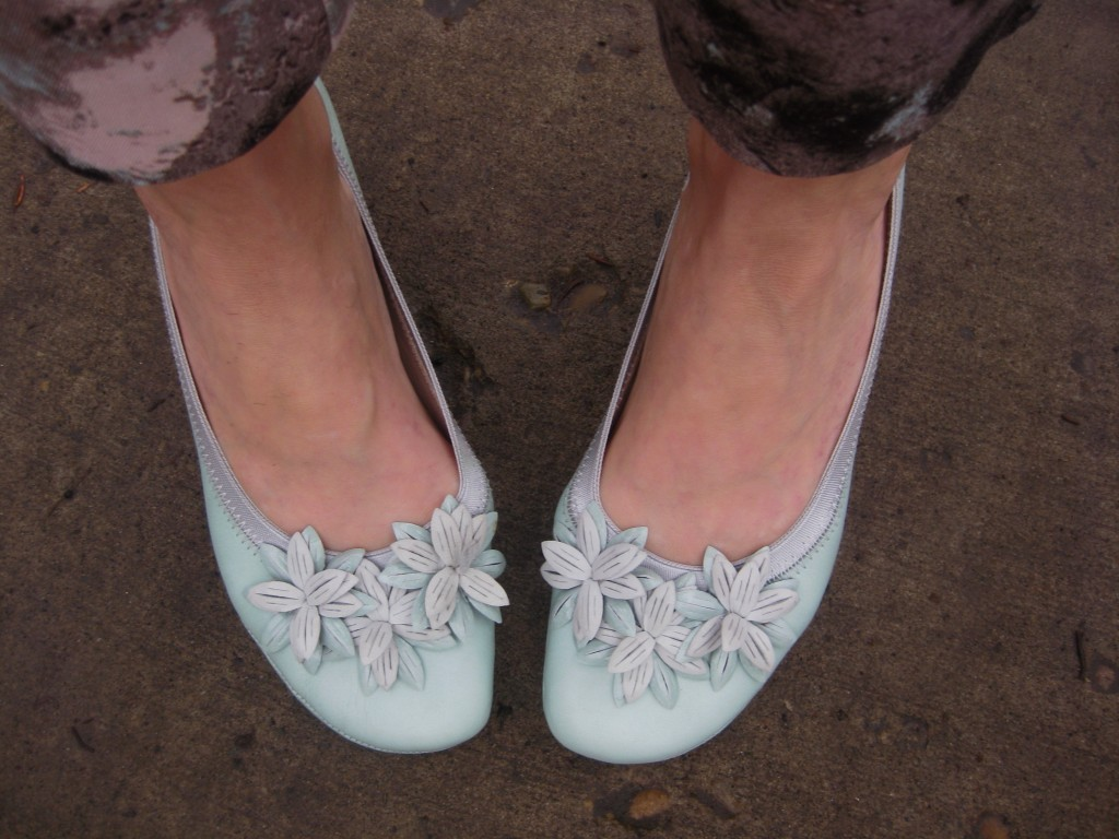 I'm so glad I got to wear these before the snow piled up!