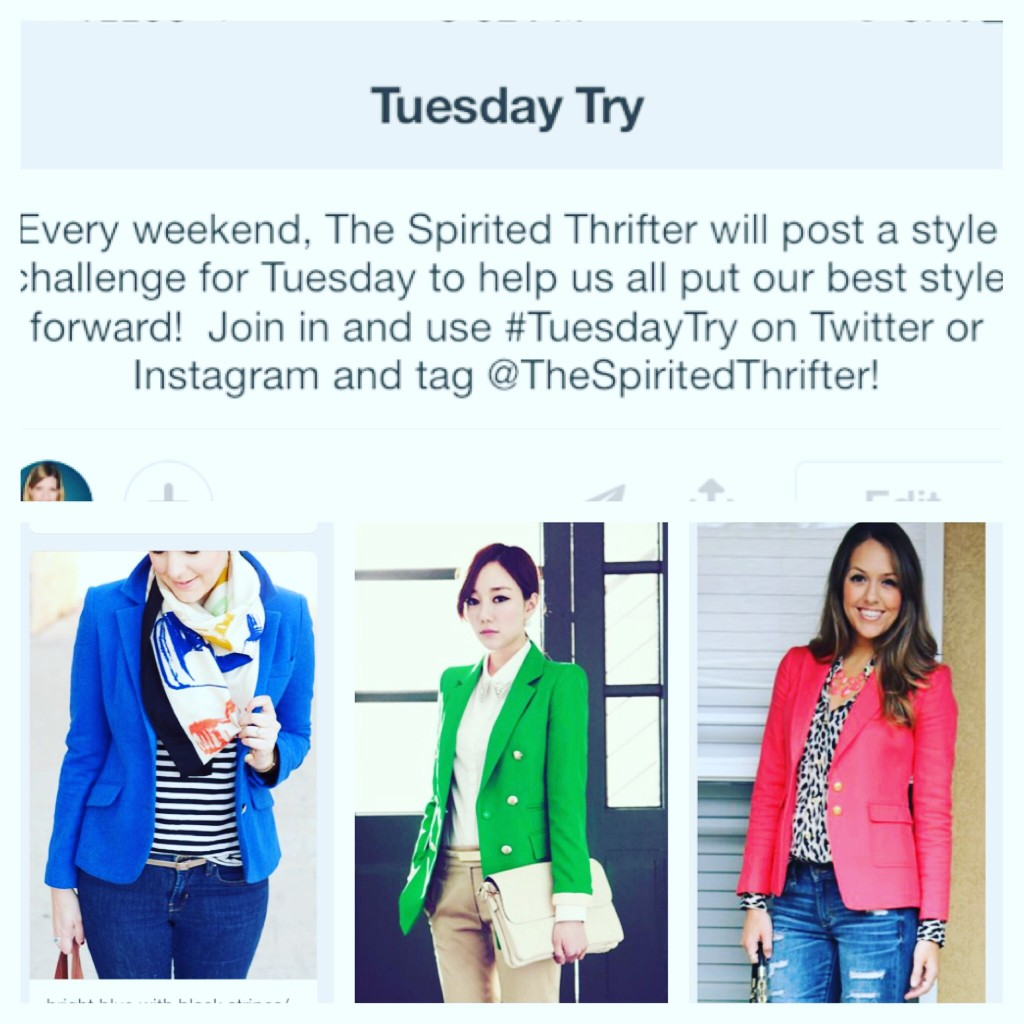 Bright Blazer Week