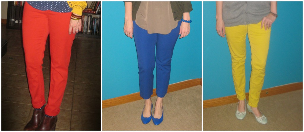 If you have to wear pants, make them PRIMARY PANTS!