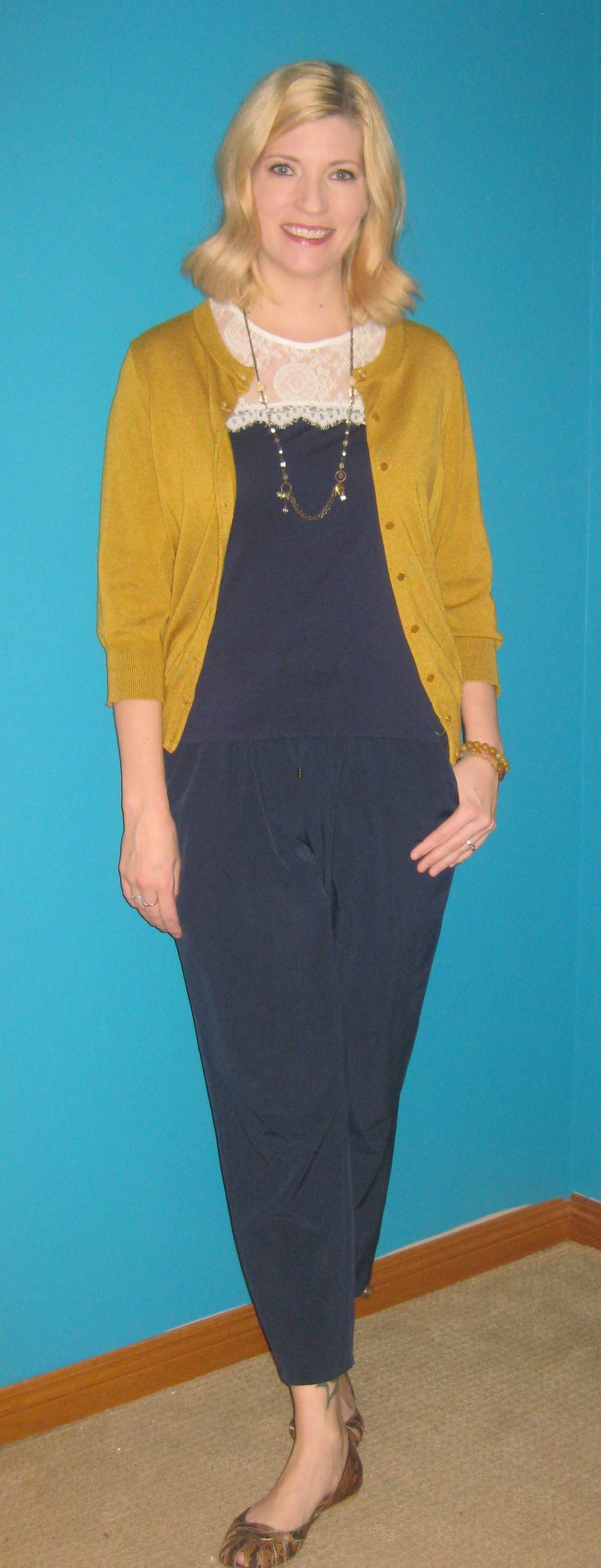 The *Essential* Mustard Cardi