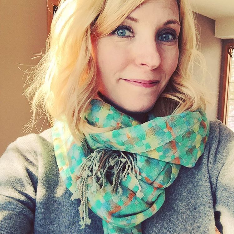 But am I a scarf person? HECK YEAH! Especially with all these gorgeous colours!! $4 at VV Boutique!! #thriftshop #thriftscore