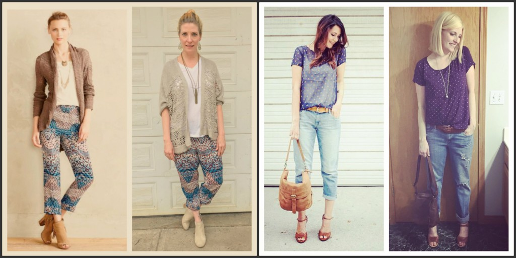 Concluding the month with a boho Anthro-inspired look on the 30th and a comfy casual look today!