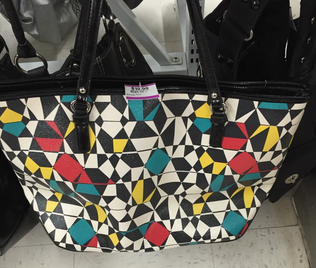 Also liked this Nine West tote but not enough to spend $20.