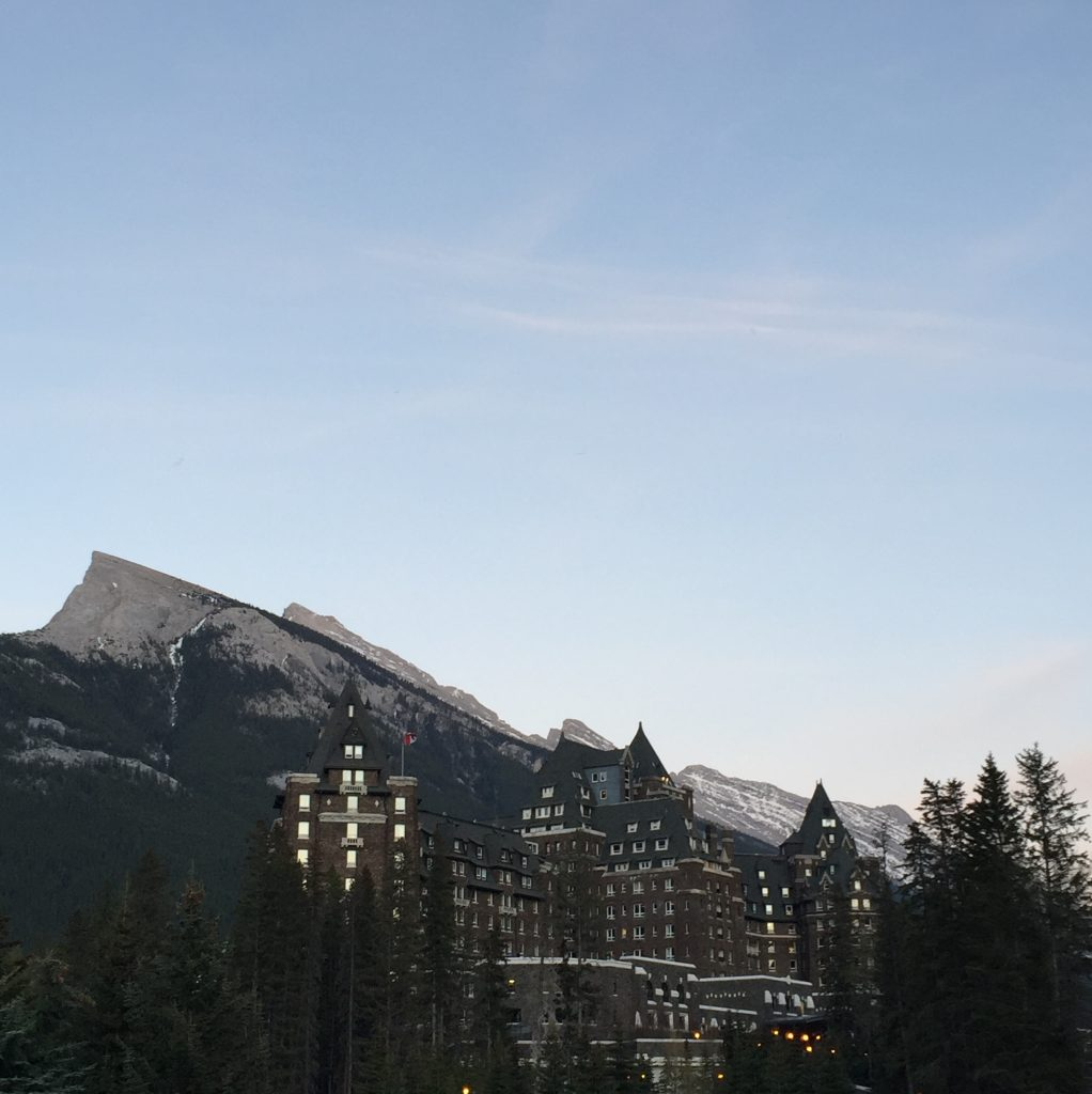 The Fairmont Banff Springs Hotel...