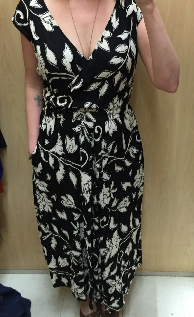 This maxi dress was pretty but a bit tight and felt a bit ... old ladyish.
