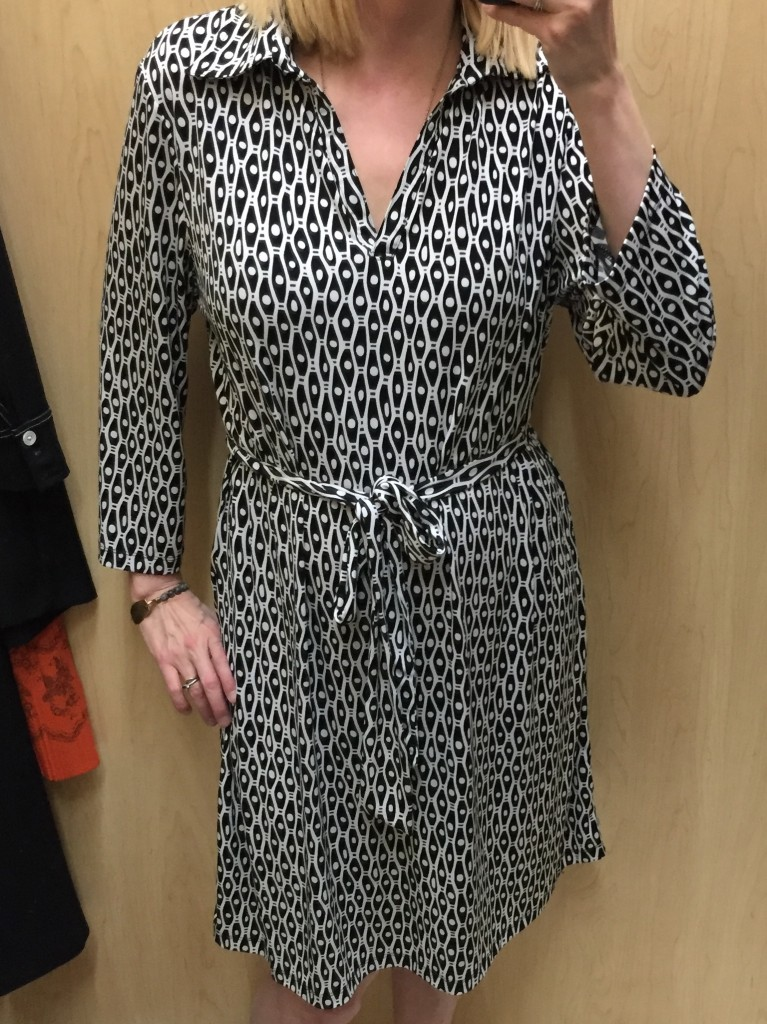 Too big, too bad - love a simple shirt dress!