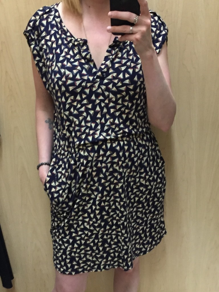 Cute print, bad fit - such is the case for a lot of trendy but low-quality brands that end up in thrift stores.