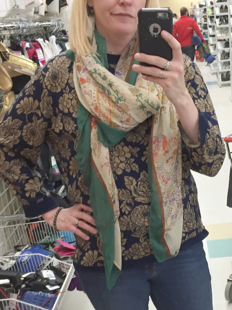 YES you even need to try on scarves, otherwise I wouldn't have known this one had a length and bulk that did not spark joy even though the colours did.