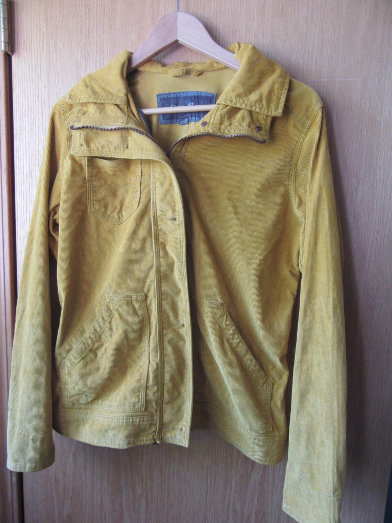 I've always wanted a mustard coat of some kind and this one is in perfect condition, an excellent brand known for its quality - Eddie Bauer - and just the right weight to wear in 3 seasons!