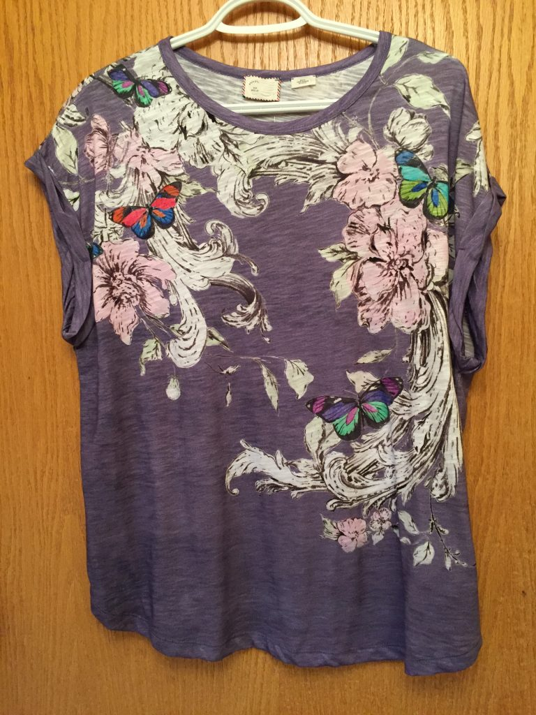 I fell in love with this Baroque tee the second I saw it in an email advertisement.