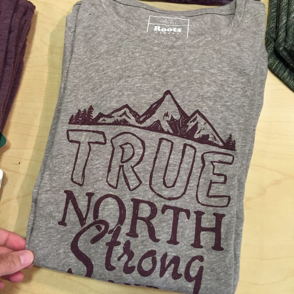True north strong and...