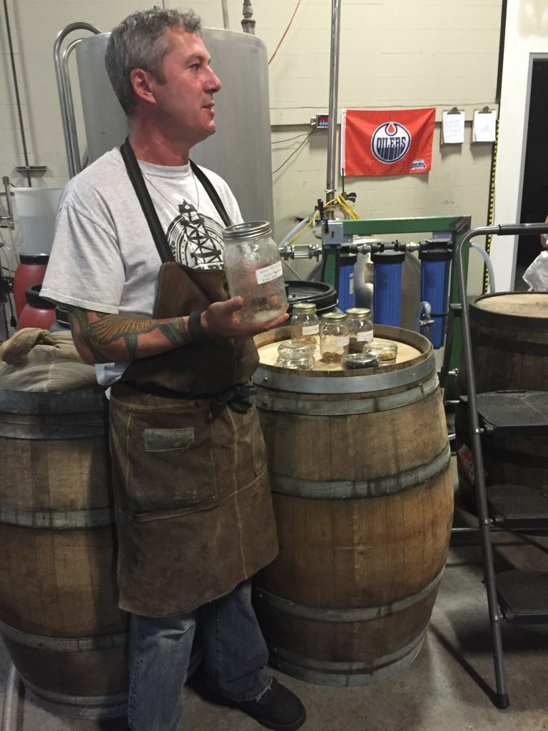 Mike has found his calling at Big Rig Craft Distillery! He was a wealth of information about every aspect of distilling! Here he is telling us all about what goes in their DELICIOUS gin! Which is actually vodka! #learning