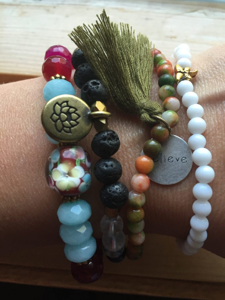 I only need a small reason to buy more She Does Create gem stone bracelets! $100 of pure LOVE.