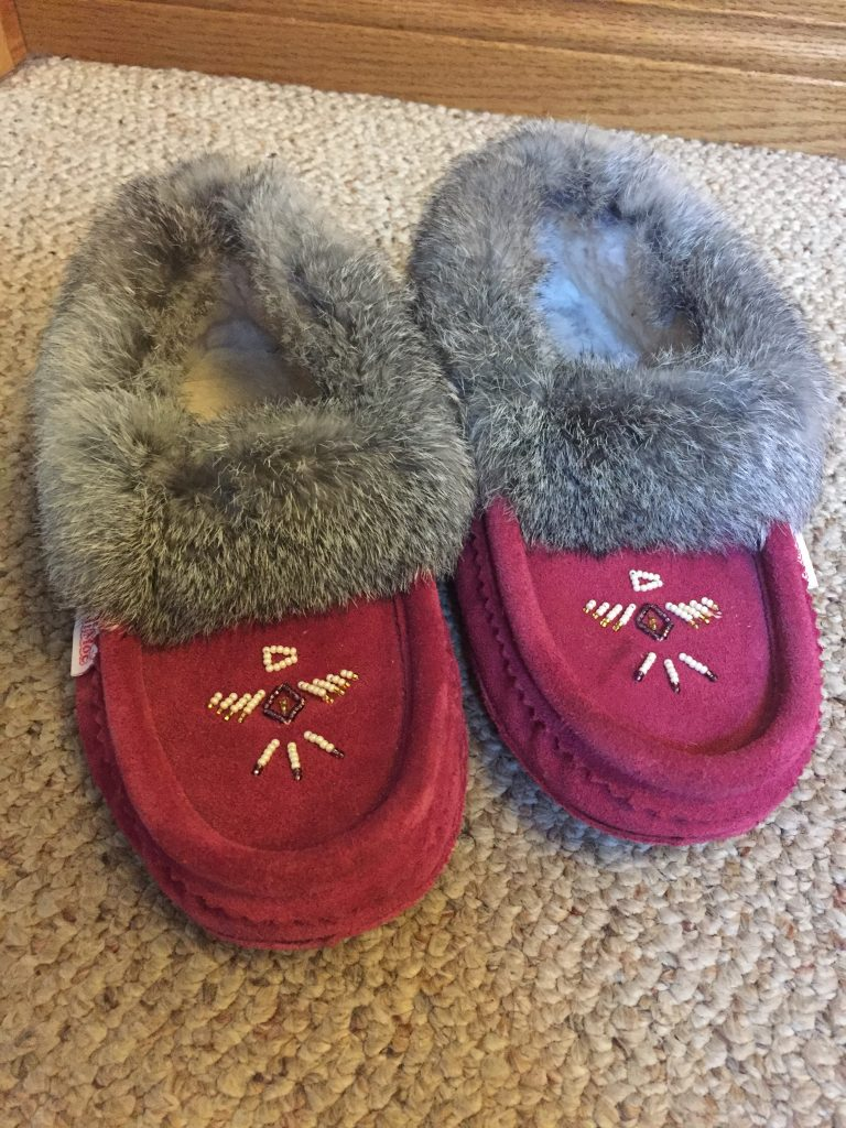 I fell in love with moccassins after thrifting a pair for my Tiger Lily costume! I got myself a brand new pair for $85