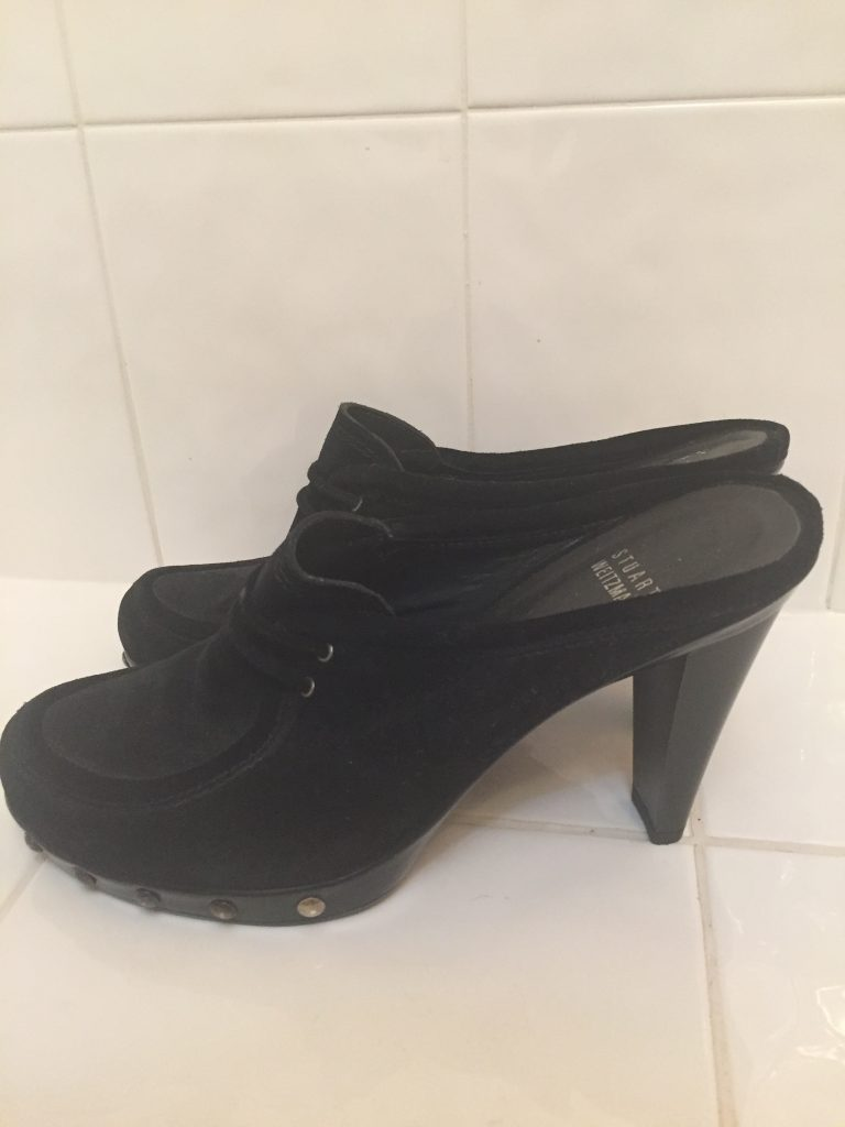They look FAB with the dress but alas, they are mainly looking shoes for me right now. #sad (I didn't even confess to my PT that I bought these!)
