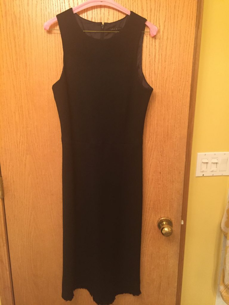 This dress is Theory! And it was $6. SIX DOLLARS! Regular Retail
