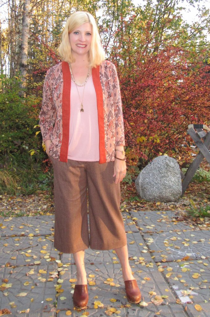 Worn with Deletta top $7, vintage blazer - half of a handmade suit I scored for - and Ugg clogs.