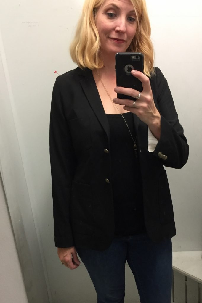Aritzia brand Talula black blazer for $7!!