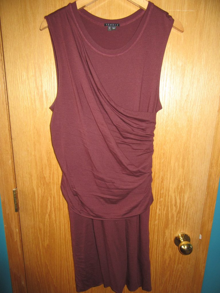 Theory dress for $11.90 in an awesome colour that fits perfectly!