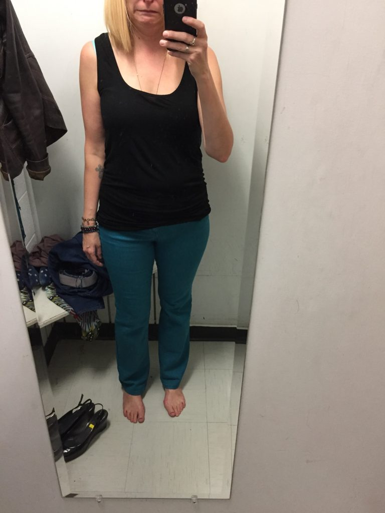 Free People teal pants made me look like a 90s cowgirl.