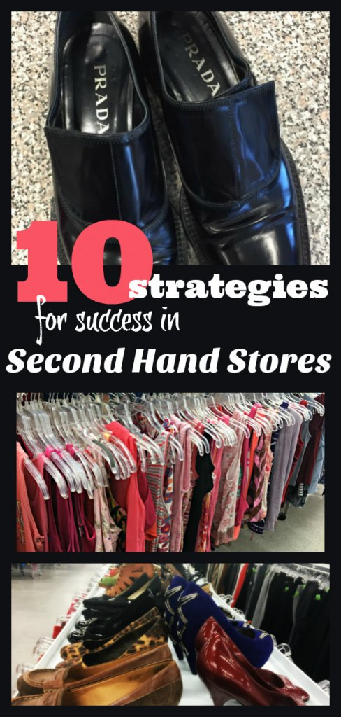 10 Strategies for Success in Second Hand Stores by The Spirited Thrifter #secondhandstores #thrifting #thriftshopping #shopping #secondhand #thrifter #shoppingtips #thriftingtips