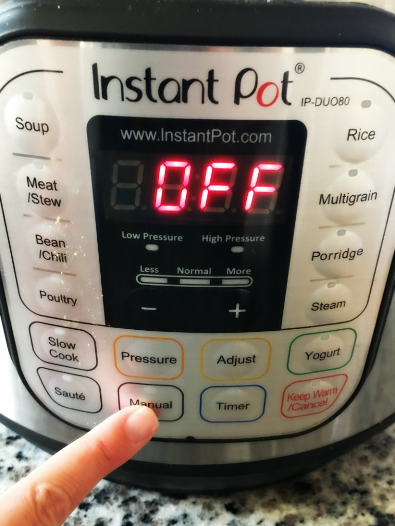 Setting your Instant Pot for Pulled Pork