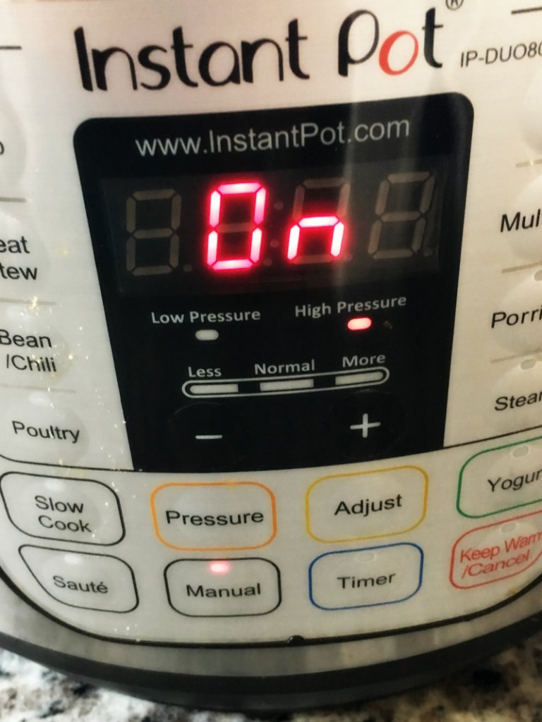 Setting your Instant Pot