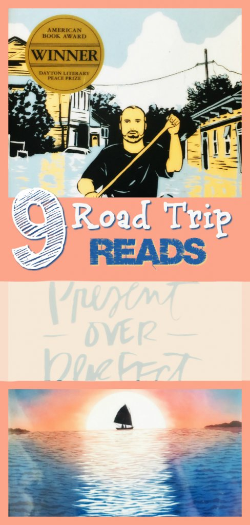 9 Books for Summer Road Trip Reading by The Spirited Thrifter #books #reading #summerreads #bookrecommendations #bookworm #ilovebooks #roadtrip #roadtripreads #summerbooklist