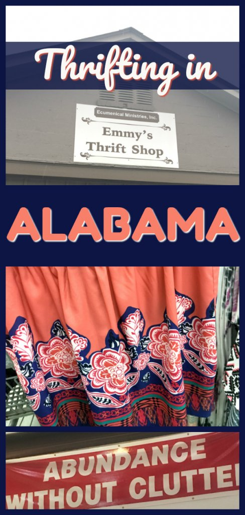 Thrifting in Alabama