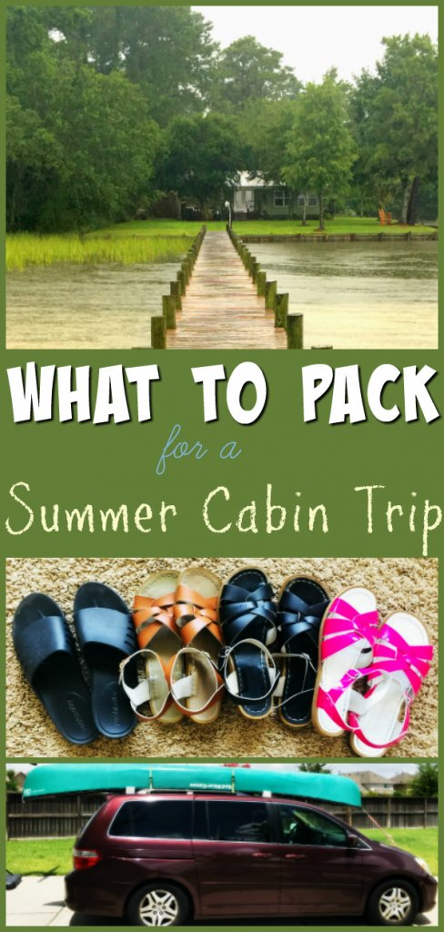 What to Pack for a Summer Cabin Trip
