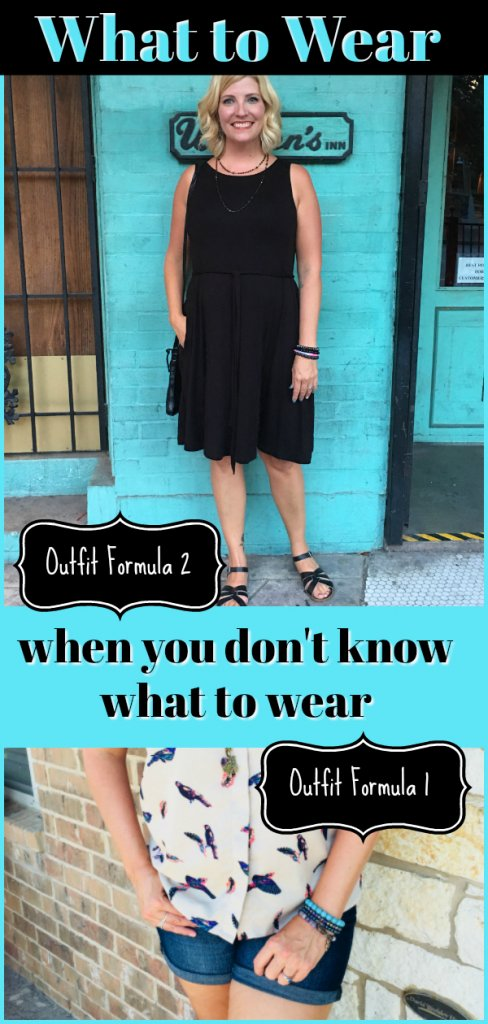 What to Wear Outfit Formulas
