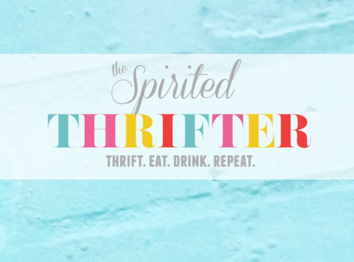 The Spirited Thrifter Logo