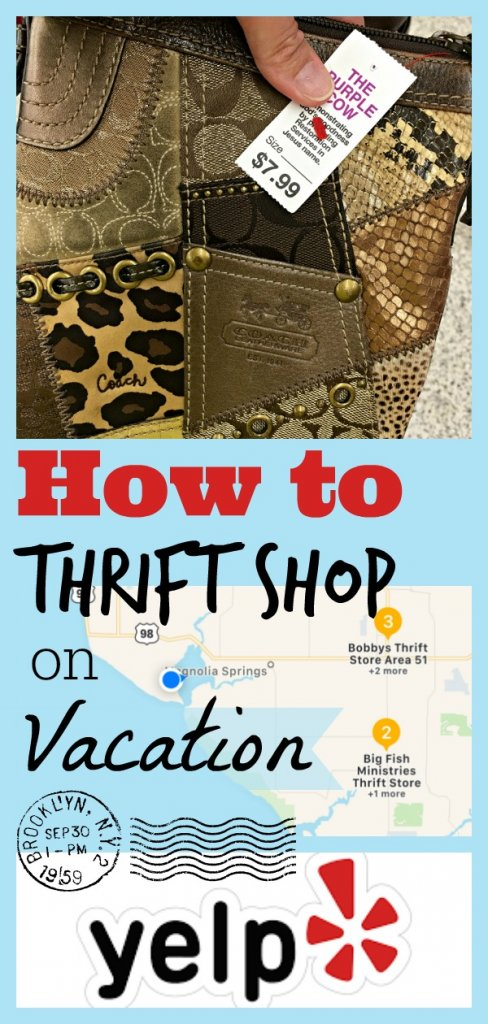 How to Thrift Shop on Vacation by The Spirited Thrifter