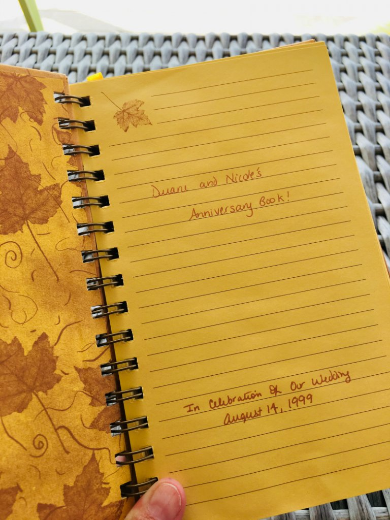 Anniversary Journal by The Spirited Thrifter